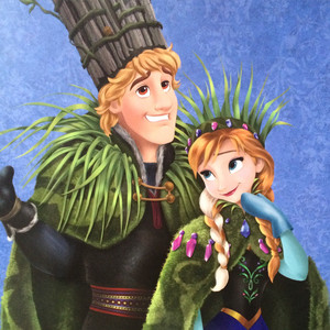 迪士尼 Fairytale Collection - Anna and Kristoff