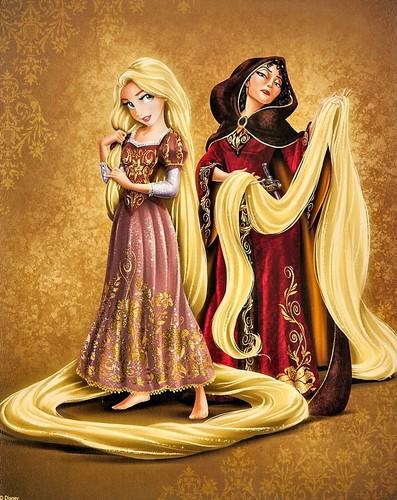 Disney-Prinzessin Hintergrund titled Disney Fairytale Designer Collection - Rapunzel –Neu verföhnt