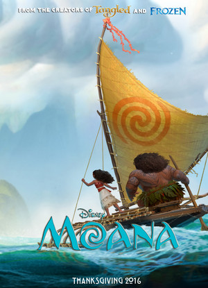 迪士尼 Moana official poster