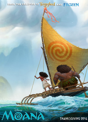 Disney Moana official poster