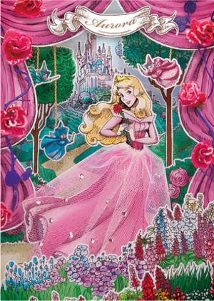 Disney Postcard - Aurora