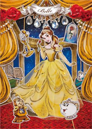 Disney Postcard - Belle