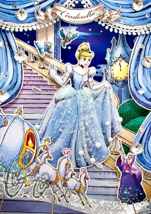 disney Postcard - cenicienta