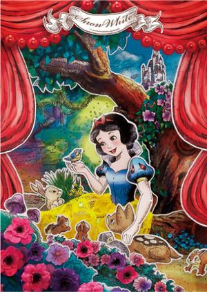 Disney Postcard - Snow White