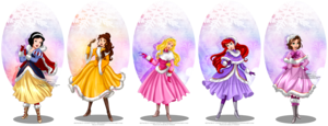 Disney Winter Princesses