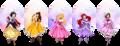 Disney Winter Princesses - disney-princess fan art