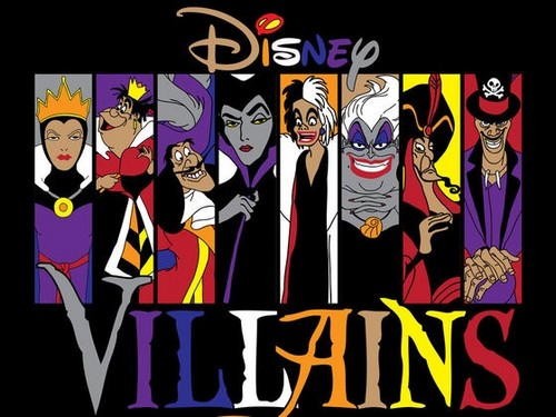 Disney-Bösewichte Hintergrund with Anime entitled Disney villains
