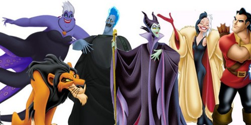 Disney Villains karatasi la kupamba ukuta containing an academic kanzu, gown called Disney villains work as a team sometimes!