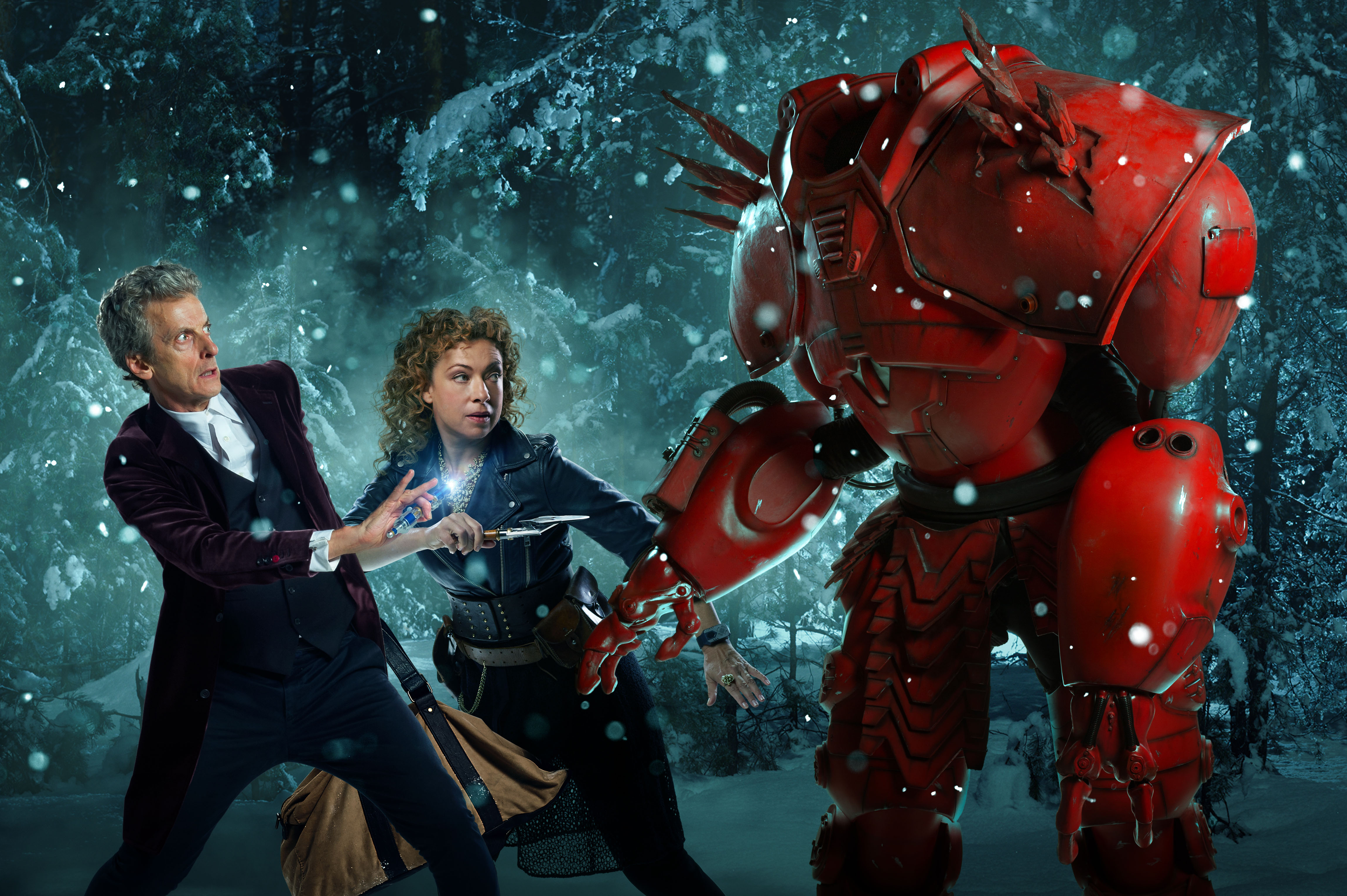Doctor Who - Christmas Special - Promo Pics