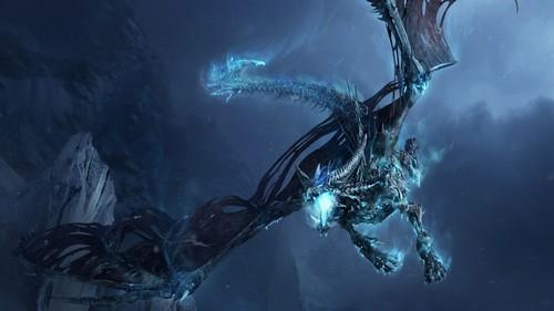 ड्रॅगन्स वॉलपेपर entitled Dragon in Flight