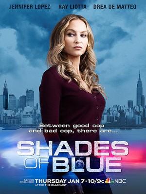 Drea de Matteo as Detective Tess Nazario in Shades of Blue