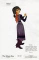 Early Anya character designs for Anastasia - anastasia photo