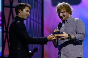 Ed won the ARIA Diamond Award