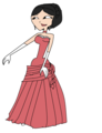Ella's Prom Dress - total-drama-island fan art