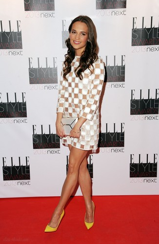 Alicia Vikander wallpaper titled Elle Style Awards