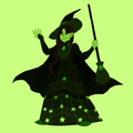 Elphaba Gem - wicked fan art