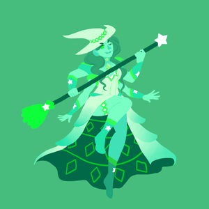 Elphie and Glinda Fusion
