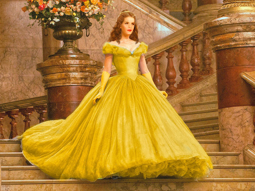 Beauty and the Beast (2017) wallpaper titled Emma as Belle ♥