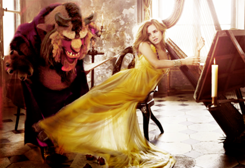 Beauty and the Beast (2017) achtergrond called Emma as Belle ♥