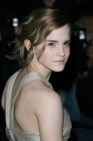 Emma at burberry and Vanity Fair Portraits