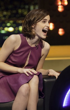 Emma at The Jonathan Ross Show