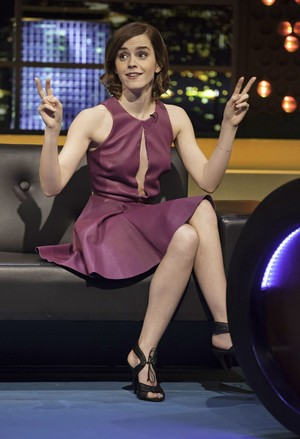 Emma at The Jonathan Ross onyesha
