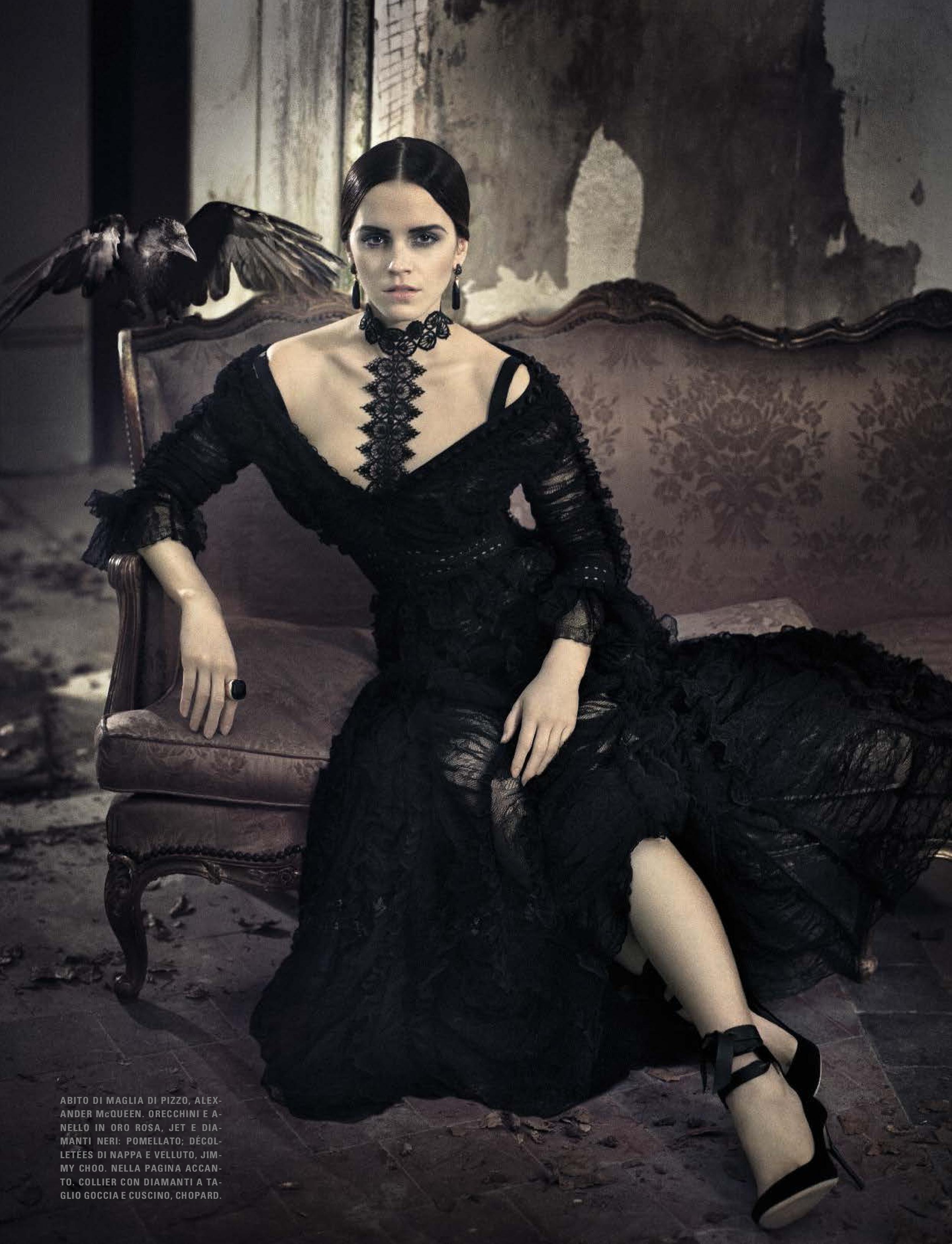 Emma in Vogue Italia (November 2015)