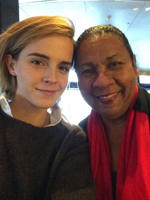 Emma in new hairstyle [Bob]