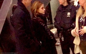Emma visited the 9/11 memorial in NYC