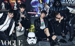 EXO for vogue korea December♥♥♥