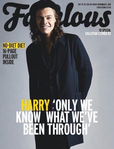 One Direction achtergrond possibly with a well dressed person, an outerwear, and a portrait called Fabulous magazine