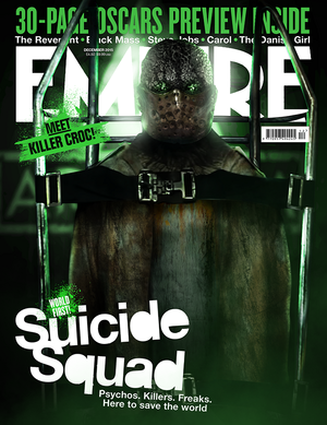 Fan-Made Empire Covers kwa BossLogic - Adewale Akinnuoye-Agbaje as Killer Croc