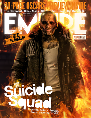 Fan-Made Empire Covers kwa BossLogic - jay Hernandez as El Diablo