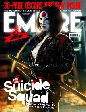 Fan-Made Empire Covers by BossLogic - Karen Fukuhara as Katana