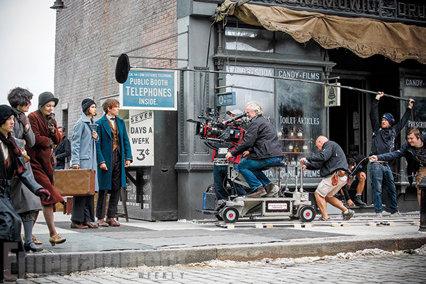 Fantastic Beasts and Where to Find Them - First Photos