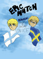 Finland vs Sweden Cover  - hetalia-couples photo