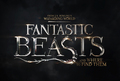 First Official Logo of Fantastic Beasts and Where To Find Them - harry-potter photo
