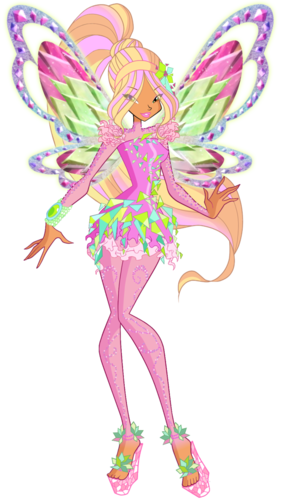 The Winx Club پیپر وال called Flora Tynix
