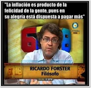 Frases pa justifikar inflacion K
