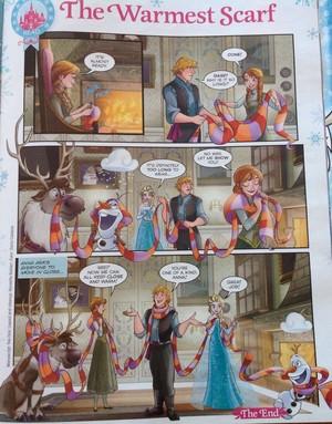 Frozen Comic - The Warmest Scarf