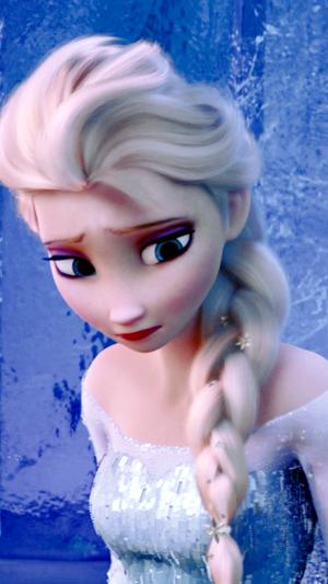 Frozen - Elsa phone Hintergrund