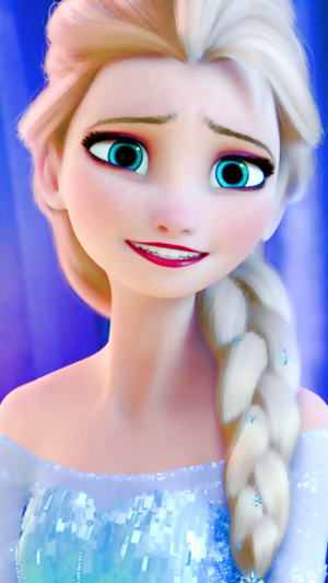Frozen - Elsa phone wallpaper