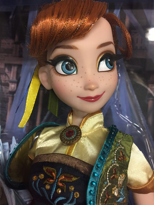 Frozen Fever Limited Edition Anna Doll