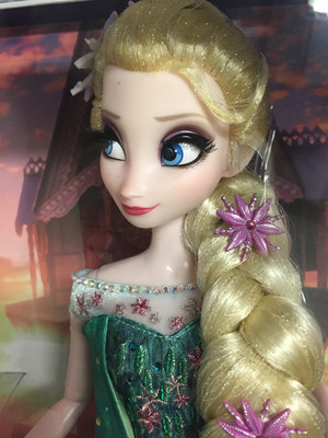 겨울왕국 Fever Limited Edition Elsa Doll
