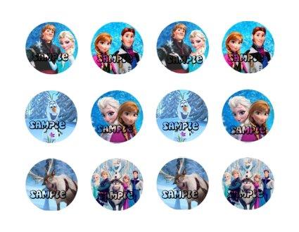 Frozen achtergrond entitled Frozen