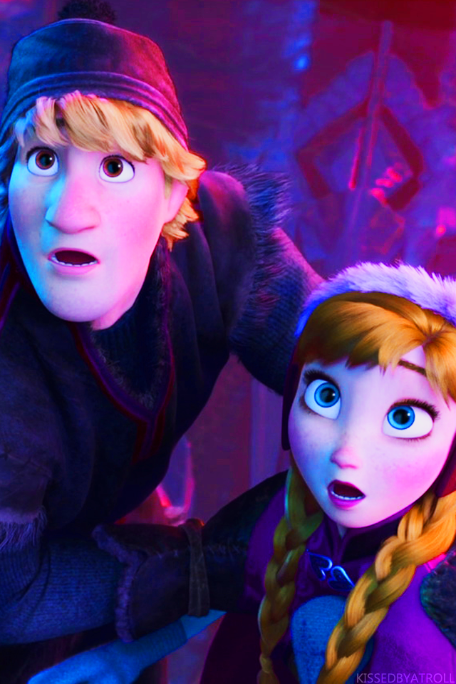 Frozen phone wallpaper - Anna and Kristoff Photo (39043122 ...