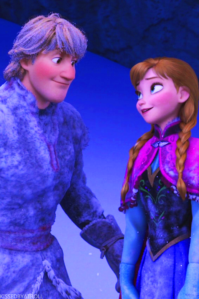 Frozen phone wallpaper - Anna and Kristoff Photo (39043124 ...