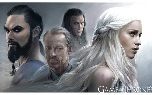 Game of Thrones wallpaper containing a portrait entitled Game of Thrones