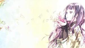 Girl Blowing Petals~ <3
