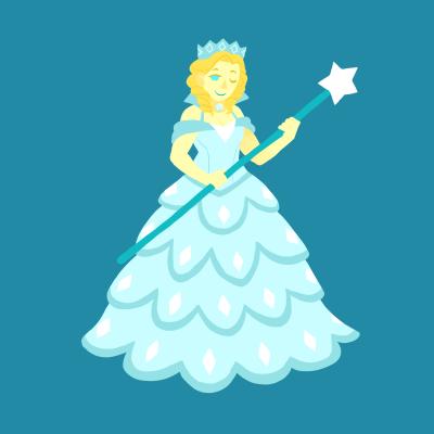 Wicked wallpaper titled Glinda Gem